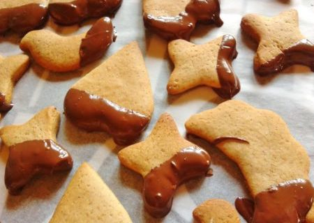 biscotti speziati pronti da mangiare