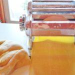 stesura pasta lasagne