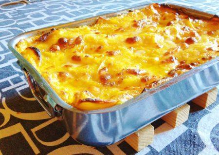 Lasagne tartufo e zucca