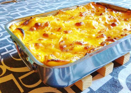 Lasagna tartufo e zucca