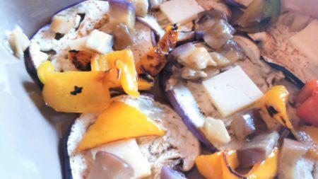 ricetta in teglia Melanzane e Peperoni al buio