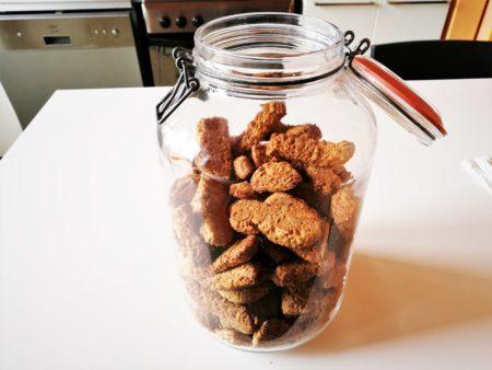 conservazione in vaso dei biscotti