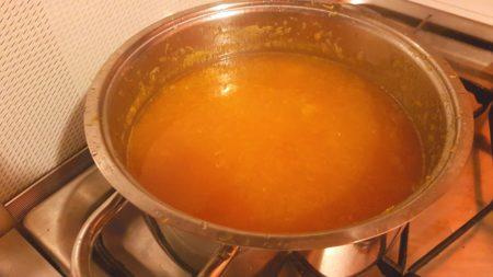 cottura marmellata di arance