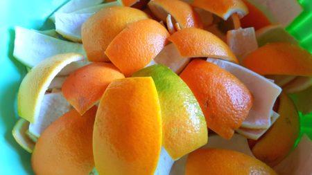 scorze di arancia